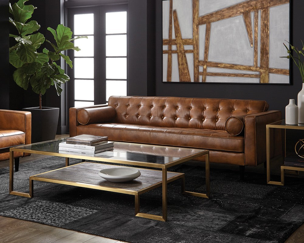 Donnie Sofa - Tobacco Tan