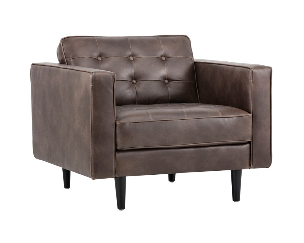 Donnie Armchair - Havana Brown
