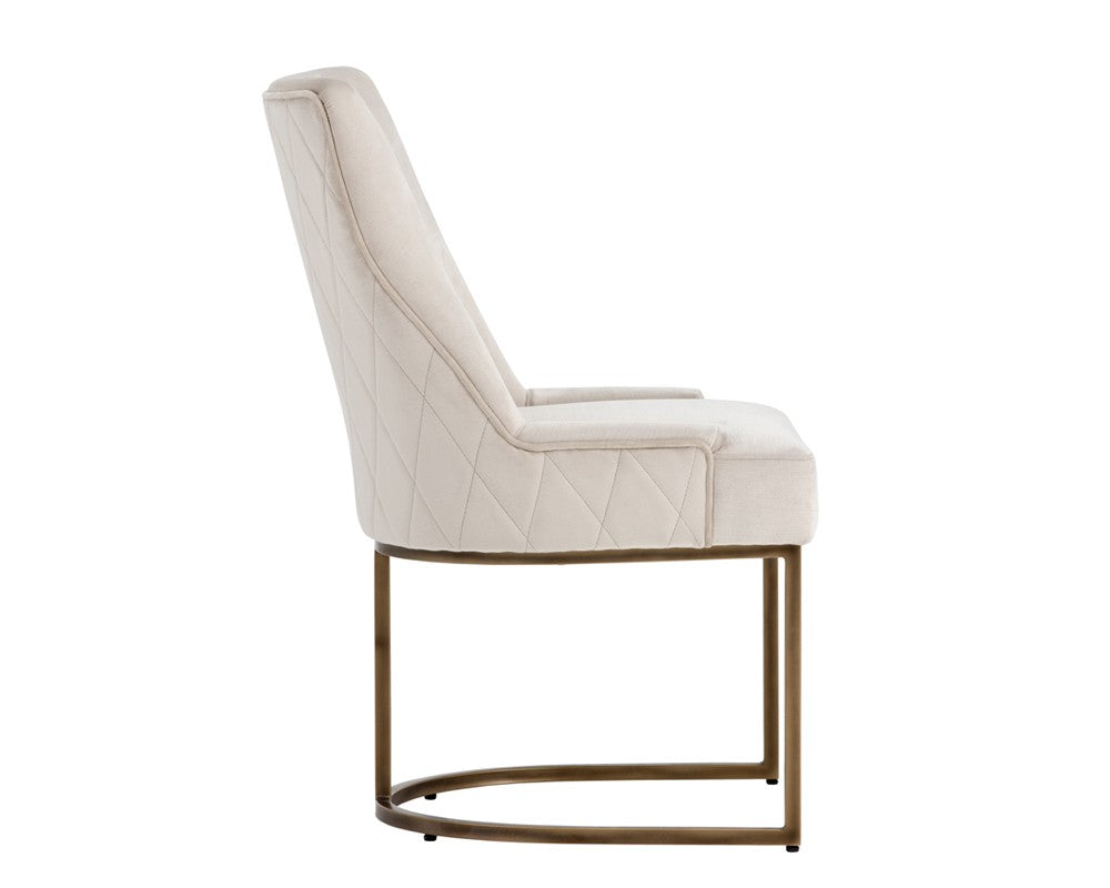 Florence Dining Chair - Prosecco