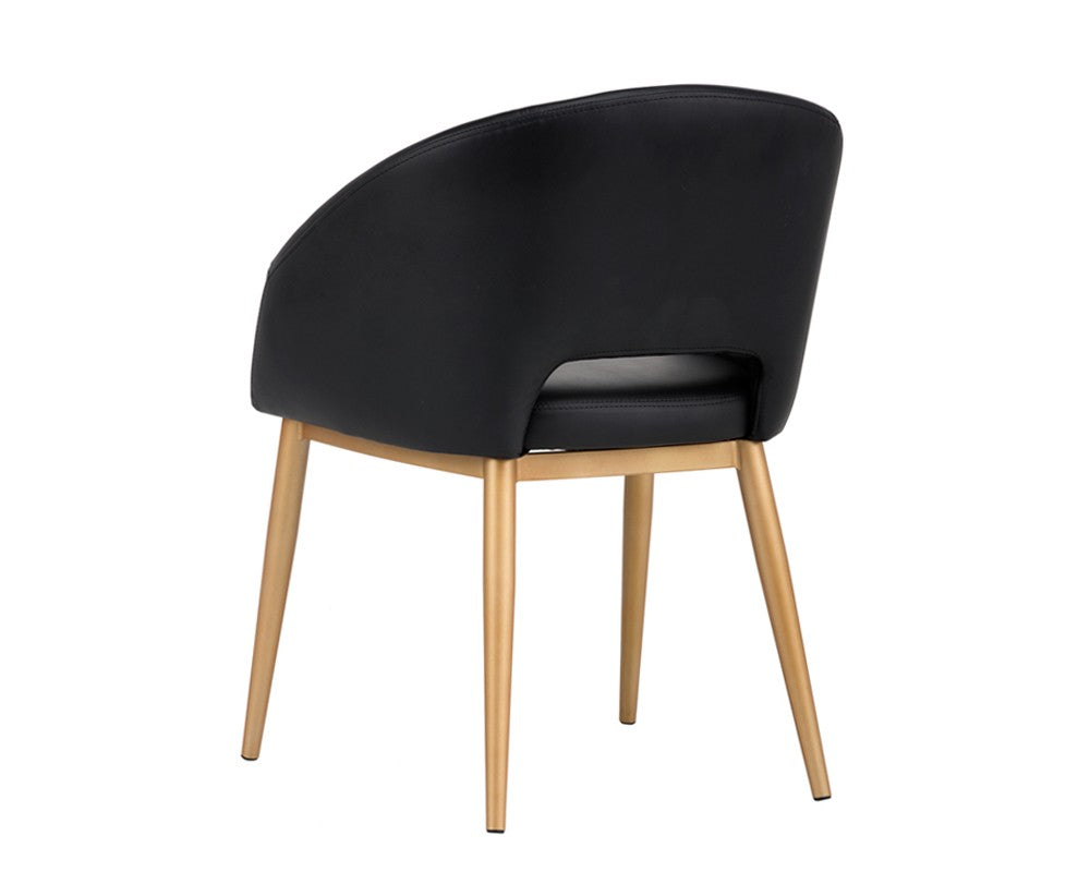 Thatcher Dining Chair - Black