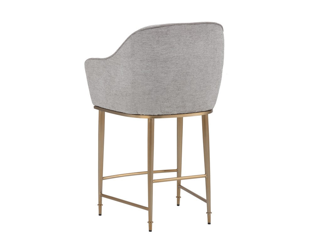 Bowman Counter Stool - Light Grey