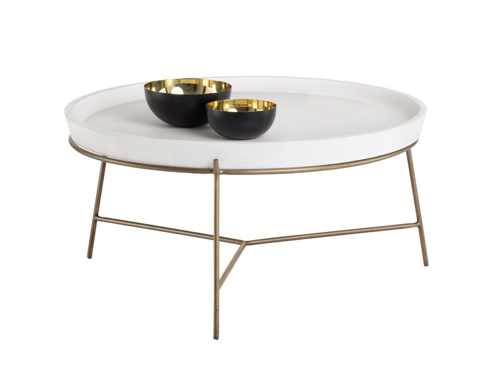 Remy Coffee Table - White