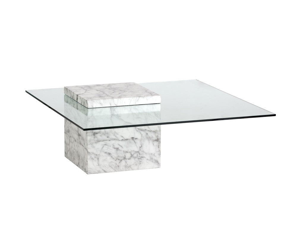 Gail Coffee Table  Marble Look