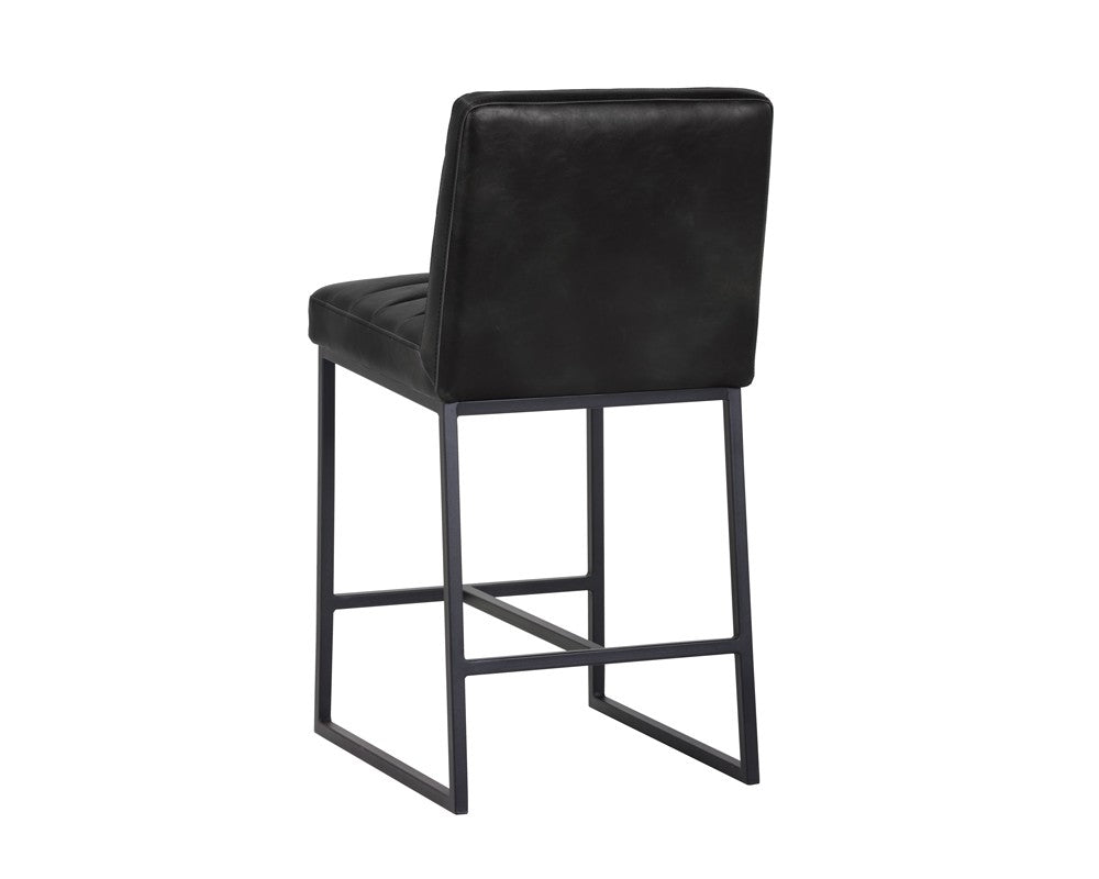 Spyros Counter Stool - Black