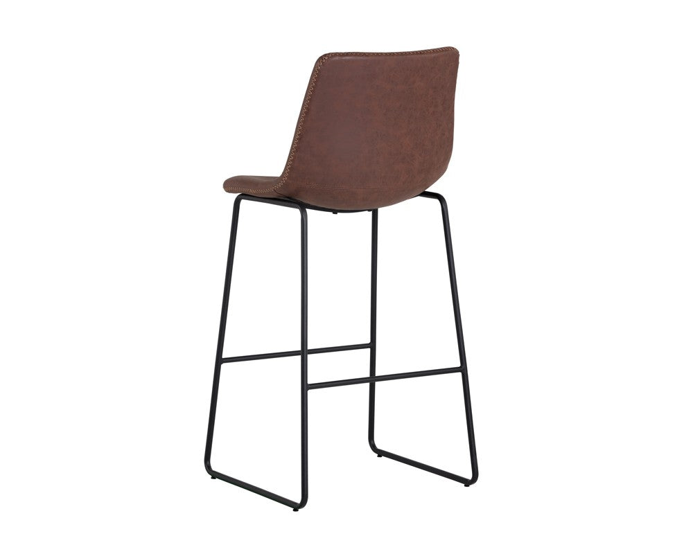Cal Barstool Antique Brown