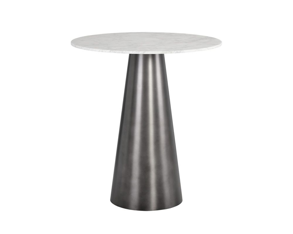 Damon Bar Table - Gunmetal