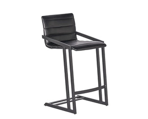 Webber Counter Stool - Cantina Black (formerly Nobility Black)
