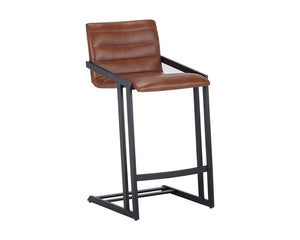 Webber Counter Stool - Cantina Saddle (formerly Nobility Saddle)