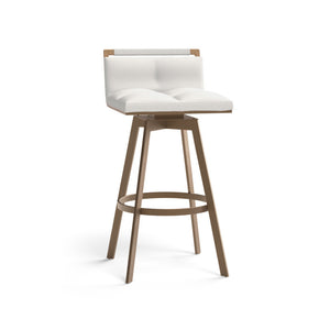 Arizona Swivel Counter Stool - Castillo Cream