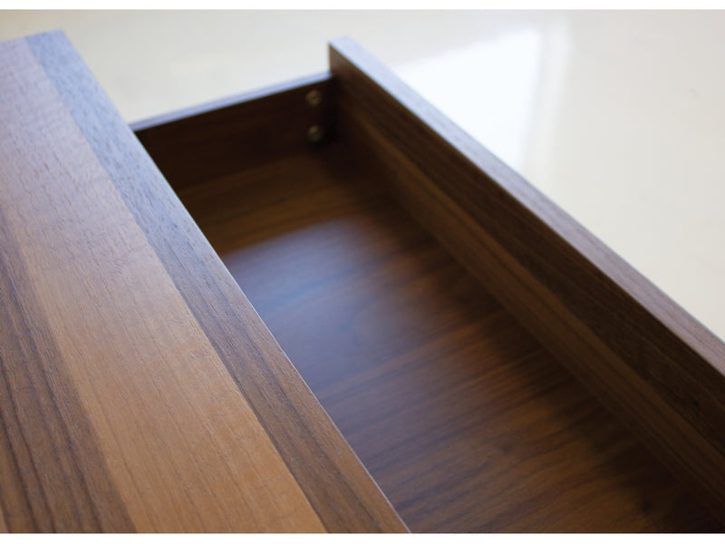 Night Table Blanche Natural Walnut - 2 Drawer