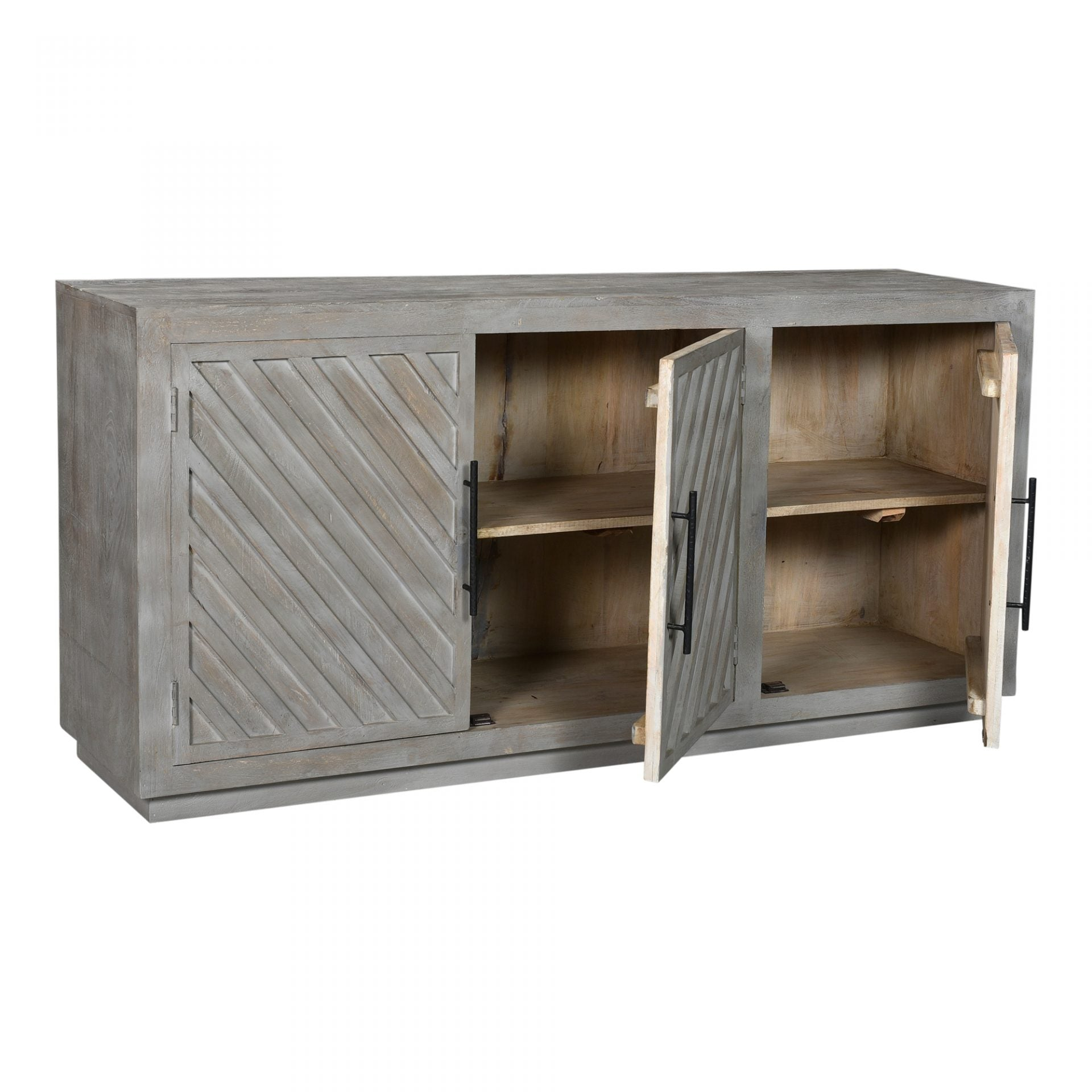 Columbus Three Door Sideboard