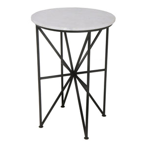 Quadrant- Marble Accent Table