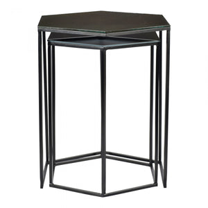 Polygon Accent Tables Set Of