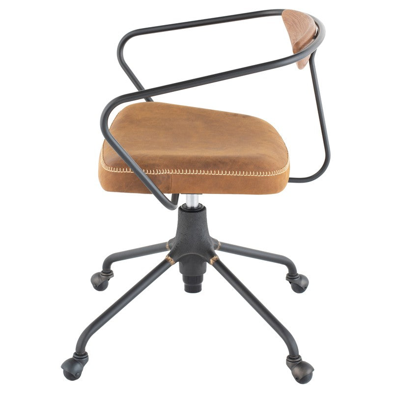 Akron Office Chair - Umber Tan