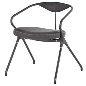 Akron Dinning Chair - Storm Black