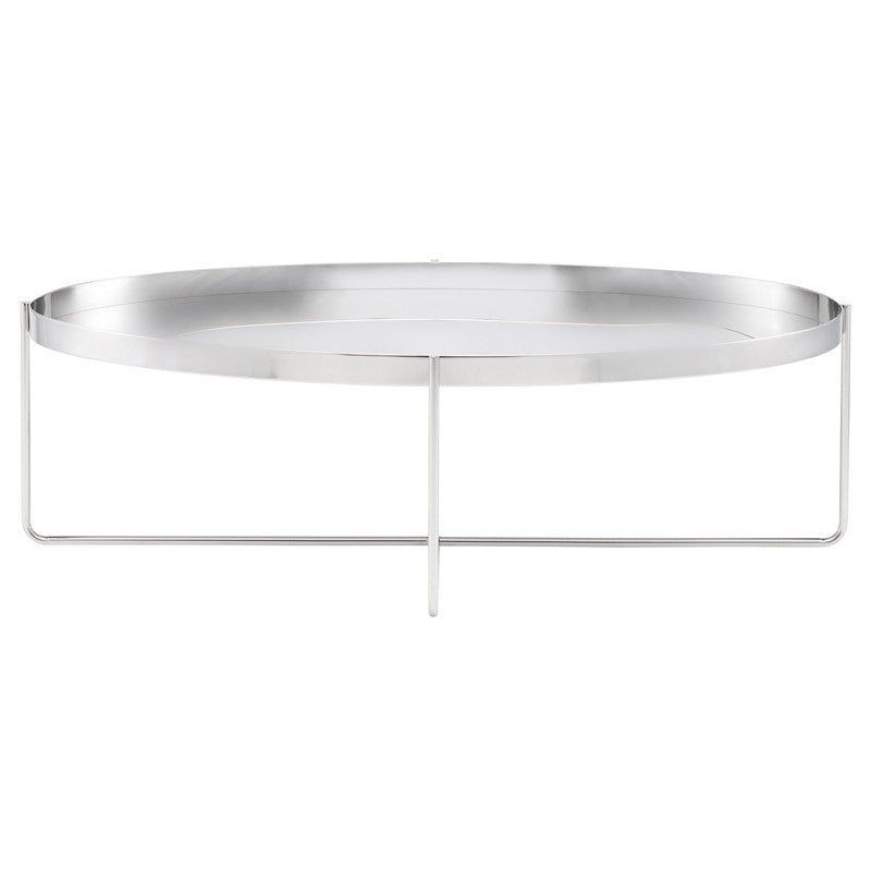 Gaultier Coffee Table - Silver