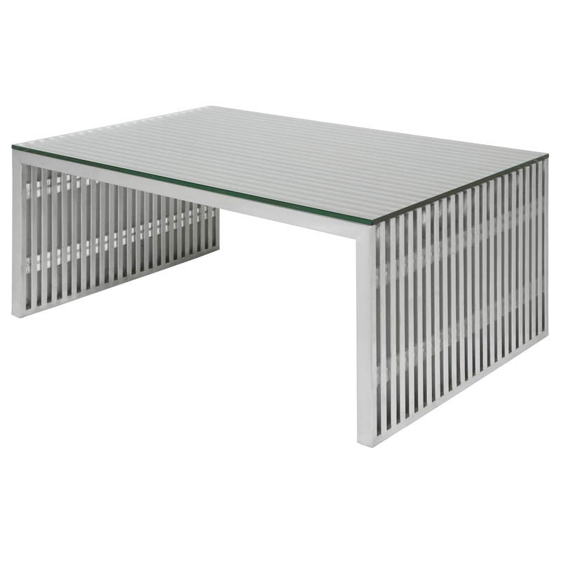 Amici Coffee Table Square - Clear