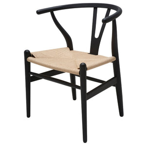 Alban Dining Chair - Black