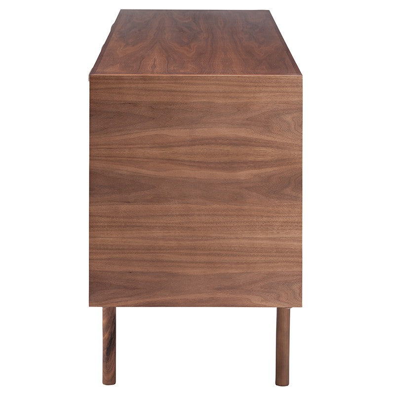 Elisabeth Media Unit - Walnut