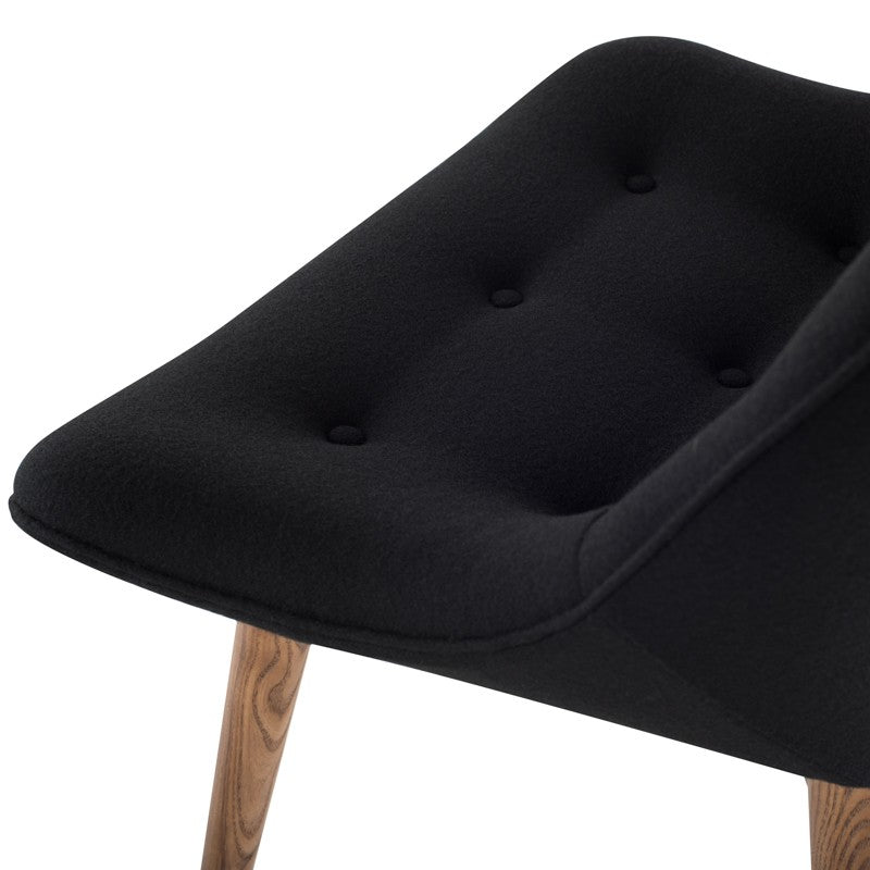 Brie Dining Chair - Black