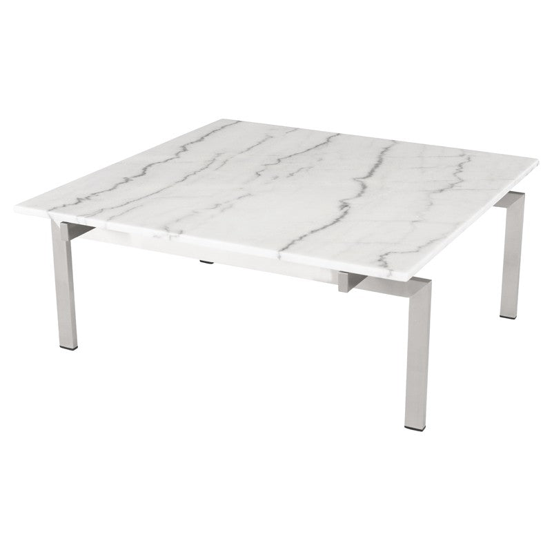 Louve Coffee Table - White