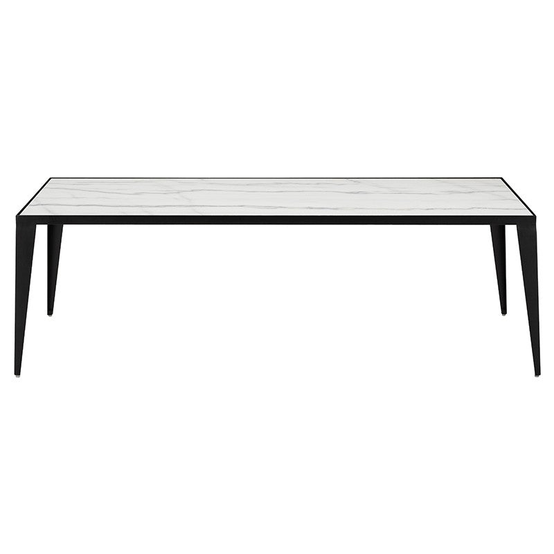 Mink Coffee Table - White