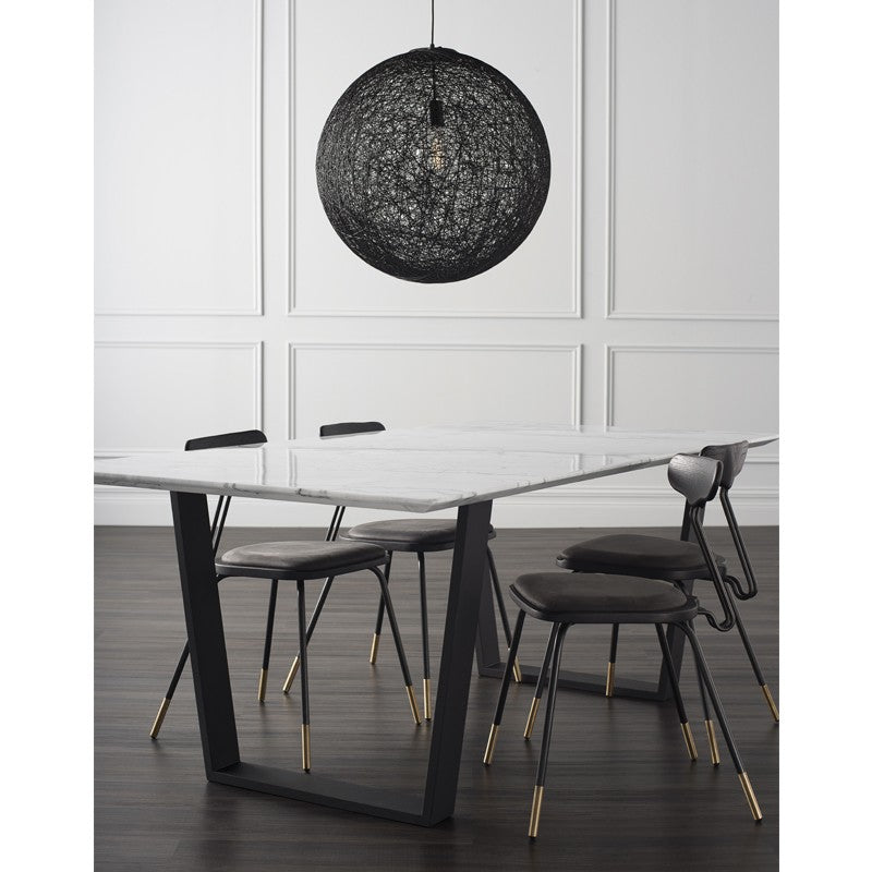 Catrine Dining Table - white