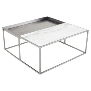 Corbett Coffee Table - White