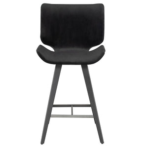 Astra Counter Stool-Shadow Grey