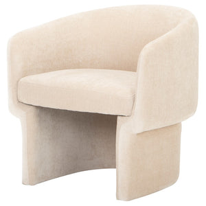Clementine Occasional Chair-Almond