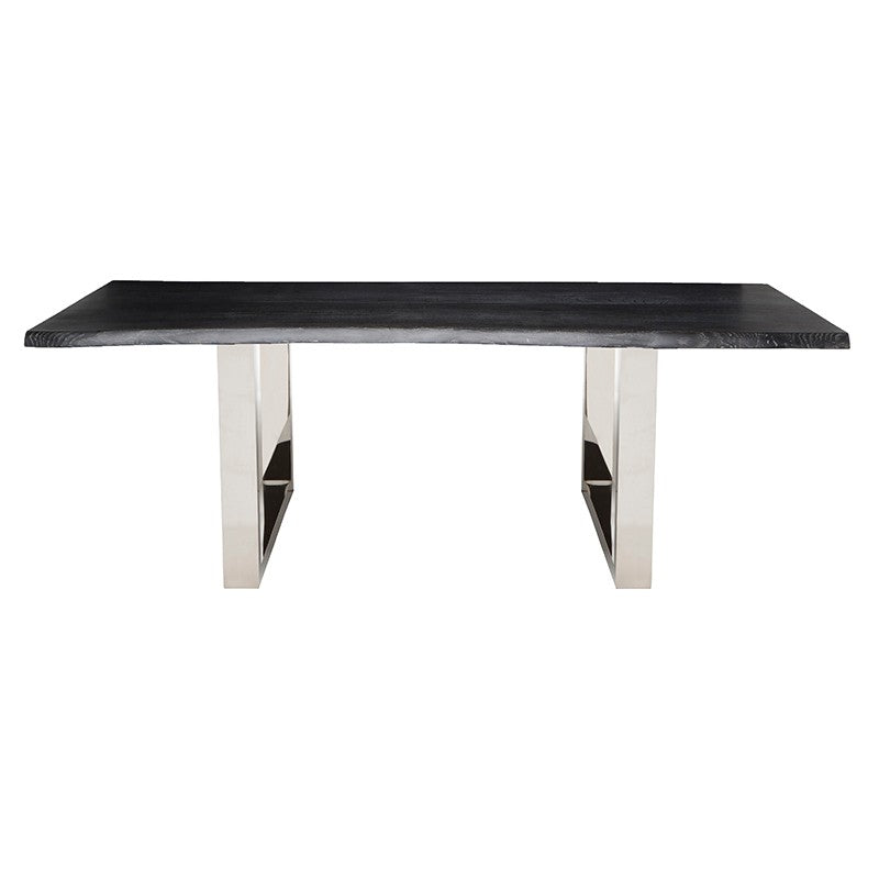 Lyon Dining Table - Oxidized Grey