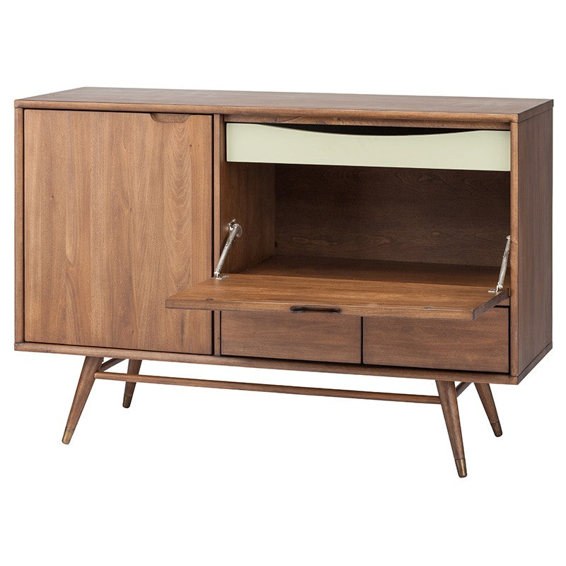Janek Media Unit - Walnut