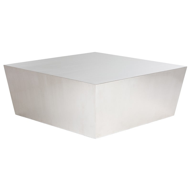 Cube Coffee Table - Silver