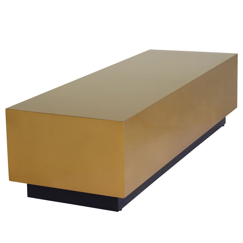 Asher Coffee Table - Gold