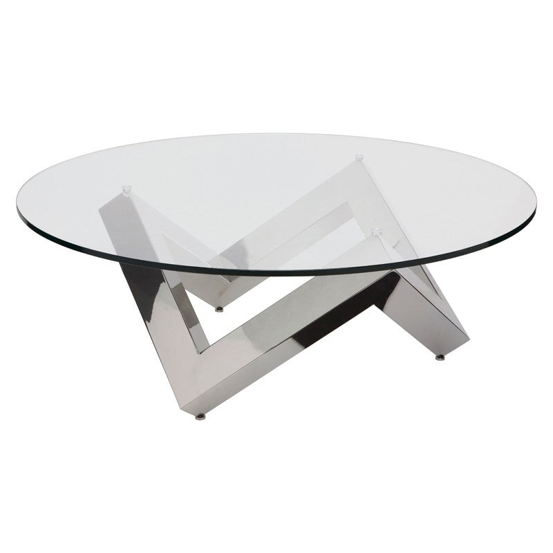 Como Coffee Table - Silver
