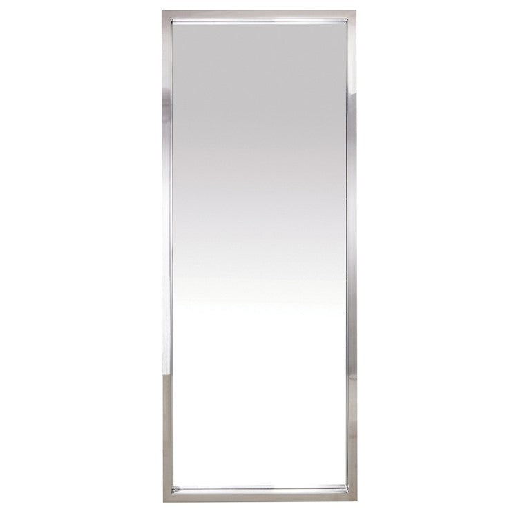 Glam Floor Mirror - Silver