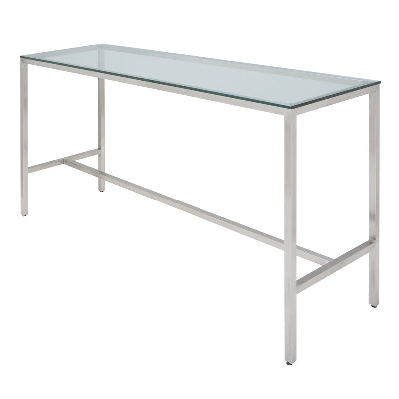 Verona Counter Table - Clear