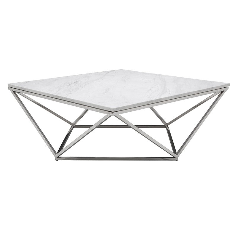 Jasmine Coffee Table - White