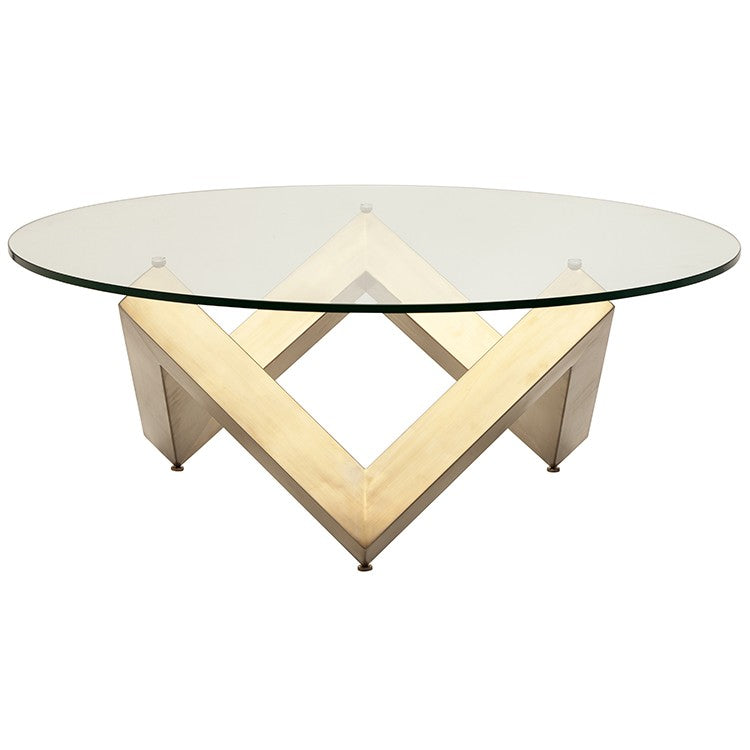 Como Coffee Table - Gold