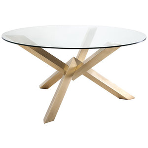 Costa Dining Table - Gold