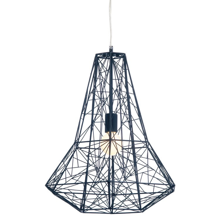 "Apollo Pendant 17"" Black"