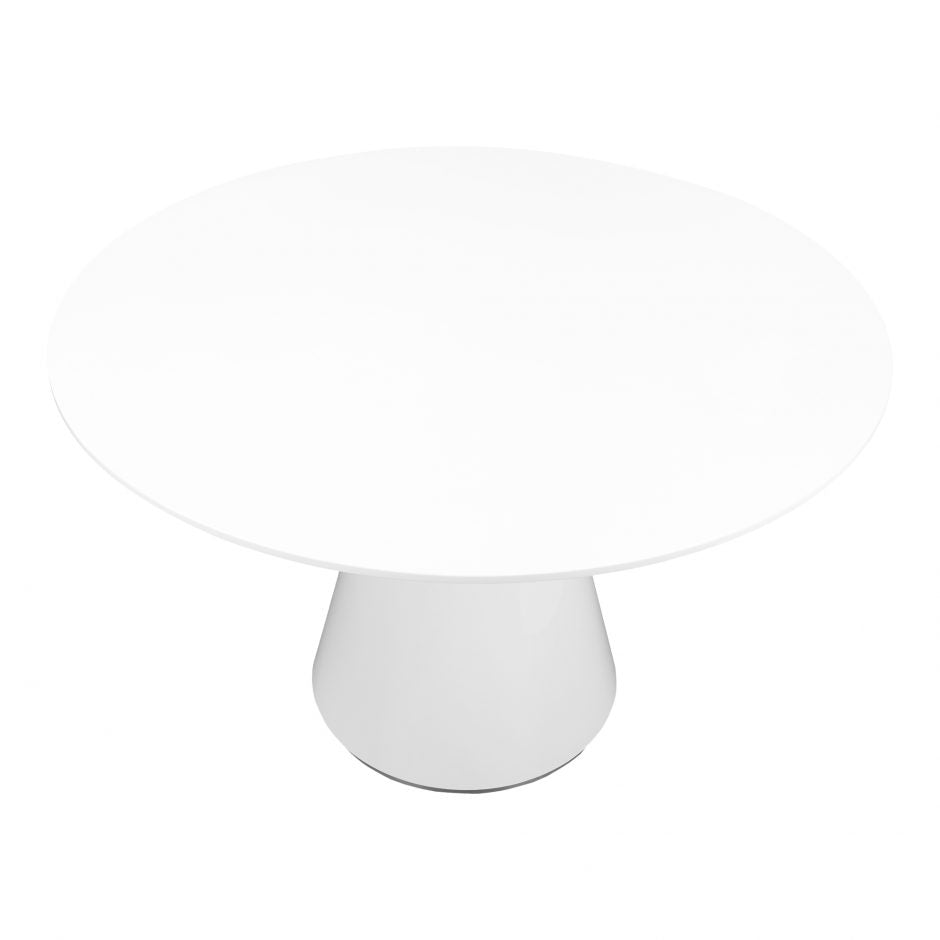 Otago Dining Table Round White