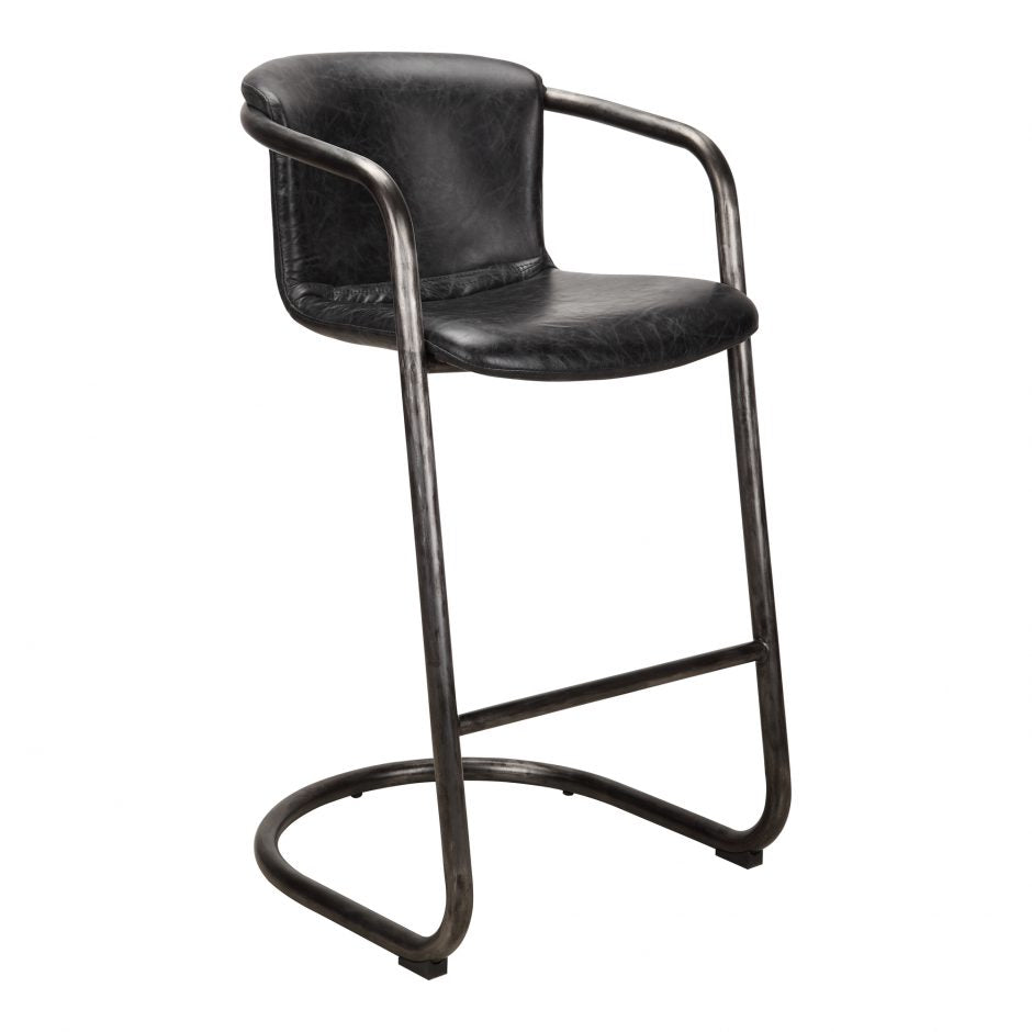 Freeman Barstool Antique Black