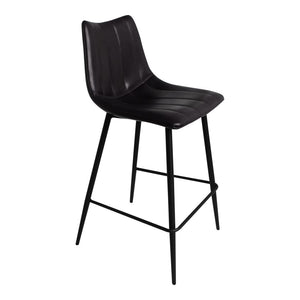 Alibi Counter Stool Matt Black