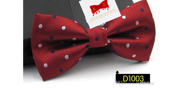 Swag Sauce Polka Dot Pre-Tied Bow Ties