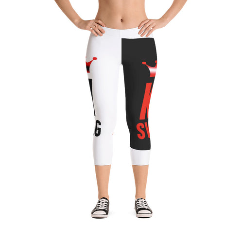 Capri Leggings -Swag Ky Ladies workout edition