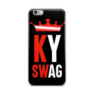 Swag Ky iPhone Case - Black