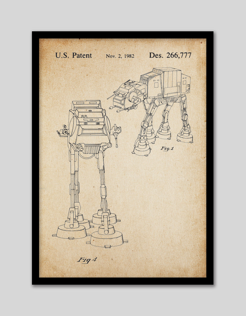 AT-AT Walker Patent Vintage