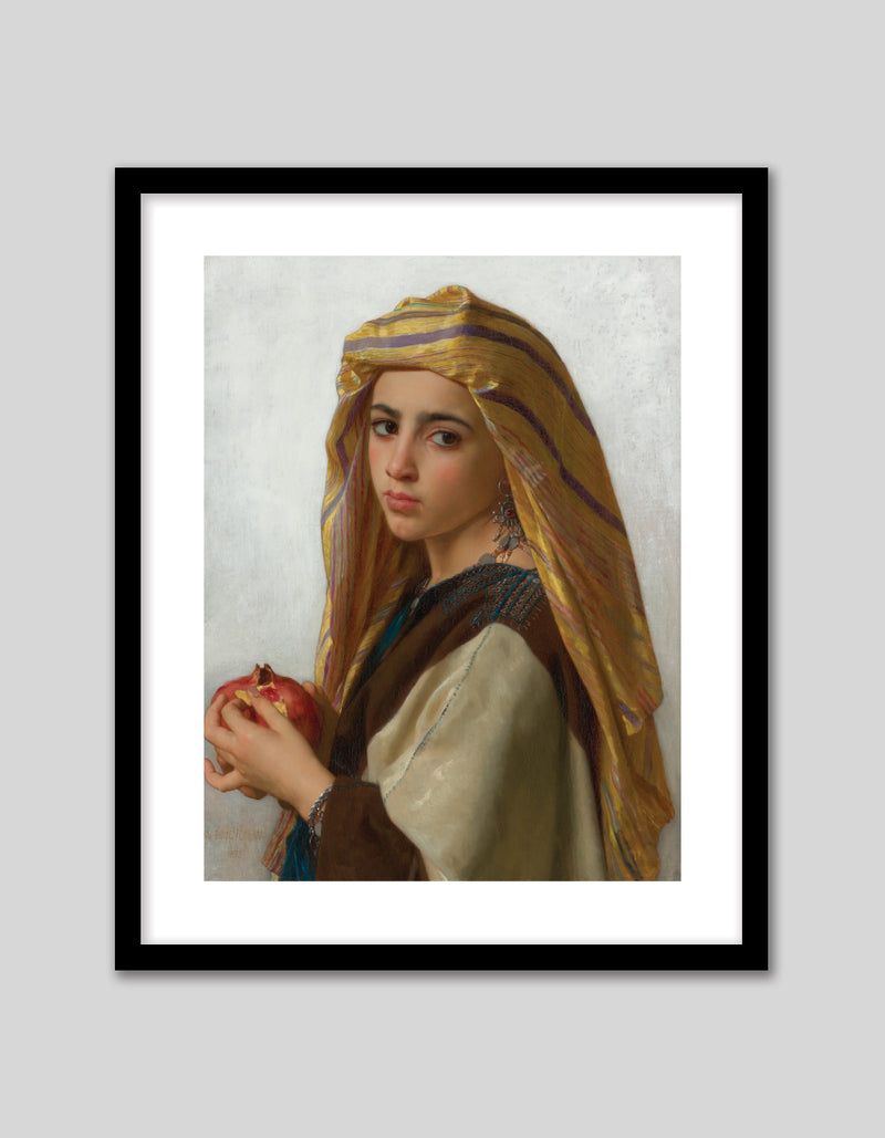 Girl with Pomegranate