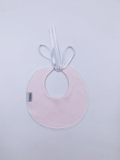 Beautiful Babidu cotton baby bib.